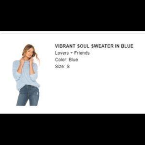 Vibrant Soul Sweater in Blue - Women's Small